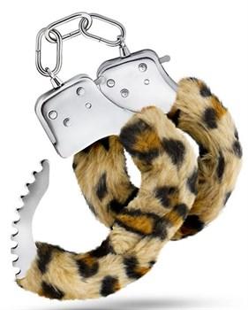 Леопардовые игровые наручники Cuffs