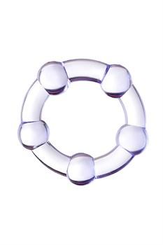 Фиолетовое эрекционное кольцо A-Toys