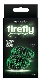 Прозрачные, светящиеся в темноте вагинальные яички Kegel Eggs