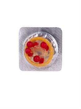 Стимулирующий презерватив-насадка Roll   Ball Apple