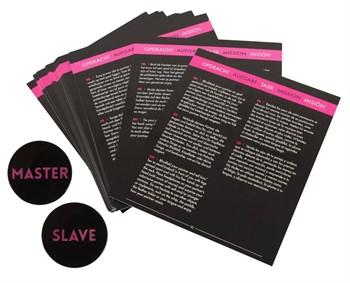 Эротическая игра Master   Slave с аксессуарами