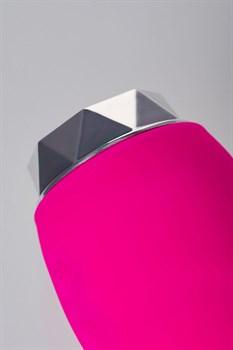 Розовый вибратор L EROINA - 15,5 см.
