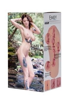 Телесный мастурбатор-вагина EMILY