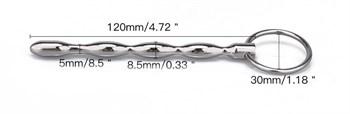 Металлический уретральный плаг с кольцом
