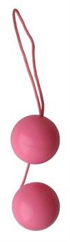 Розовые вагинальные шарики Balls