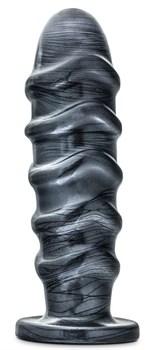 Темно-серый анальный стимулятор Annihilator - 28 см.