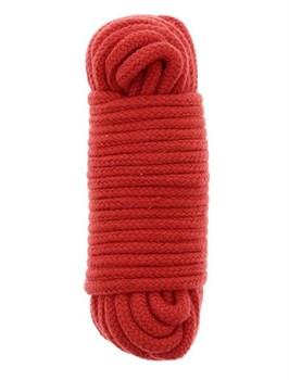 Красная веревка для связывания BONDX LOVE ROPE - 10 м.