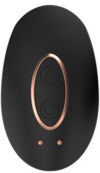 Черный клиторальный стимулятор Precious - 6,4 см.
