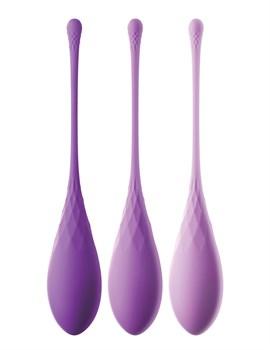 Набор из 3 фиолетовых шариков Кегеля Train-Her Set