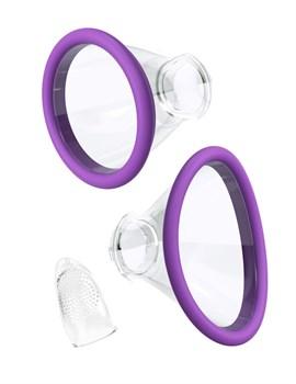Фиолетовый вакуумный клиторальный стимулятор Her Ultimate Pleasure