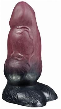 Коричневый фаллоимитатор оборотня  Рэй medium  - 24,5 см.