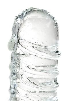 Стеклянный прозрачный фаллоимитатор Sexus Glass - 21 см.