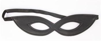 Черная маска на резиночке Notabu