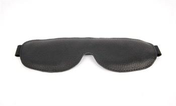 Закрытая черная маска на резиночке Notabu