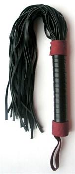 Черно-красная плетка Notabu - 45 см.
