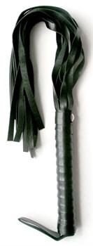 Черная плетка Notabu из искусственной кожи - 50 см.