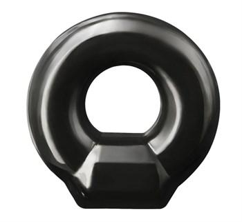 Черное эрекционное кольцо Drop Ring
