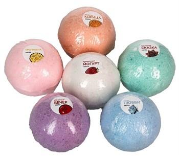 Бомбочки для ванны  Клубничный йогурт  - 5 шт.(118 гр.)