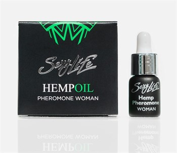 Женские духи с феромонами Sexy Life HEMPOIL woman - 5 мл.