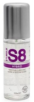 Интимная смазка на водно-силиконовой основе S8 Hybrid - 125 мл.