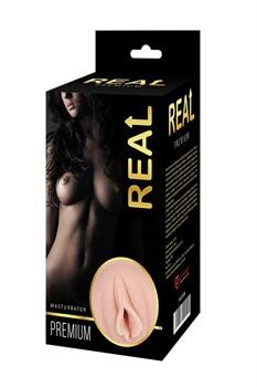 Реалистичный односторонний мастурбатор-вагина Real Women Dual Layer с двойной структурой