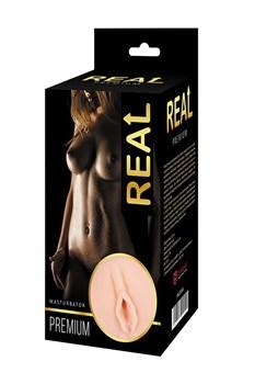 Односторонний мастурбатор-вагина Real Women Dual Layer с двойной структурой