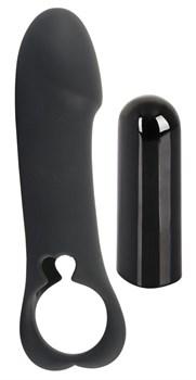 Вибропуля со сменными насадками Vibro-bullet with Remote Control