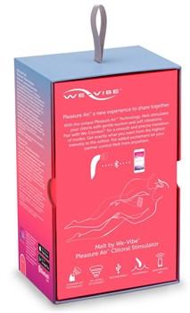 Розовый вакуум-волновой стимулятор клитора We-Vibe Melt