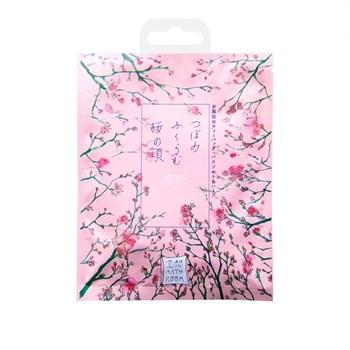 Соль-саше для ванн  Цветущие бутоны сакуры  с ароматом сакуры - 30 гр.