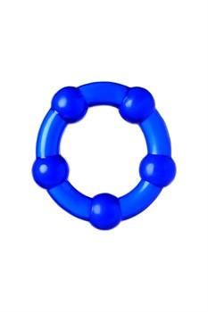 Набор из 3 синих силиконовых эрекционных колец разного размера