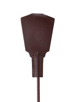 Темно-коричневый стек  Готика  с петлей - 77 см.