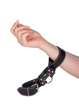Кожаные ременные наручники