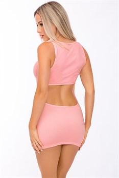 Соблазнительное мини-платье с открытым животиком