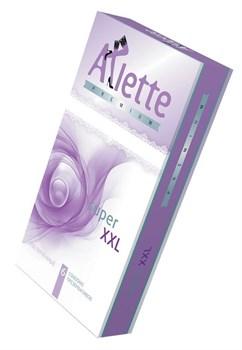 Увеличенные презервативы Arlette Premium Super XXL - 6 шт.