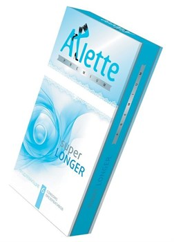 Презервативы Arlette Premium Super Longer с продлевающим эффектом - 6 шт.