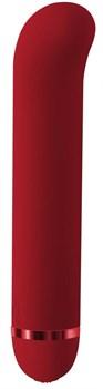 Красный вибратор Fantasy Nessie - 18 см.