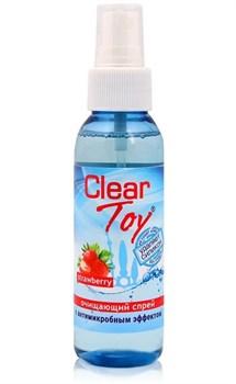 Очищающий спрей для игрушек CLEAR TOY Strawberry - 100 мл.