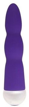 Фиолетовый вибратор Fashion Succubi Wavy Wand - 14,5 см.