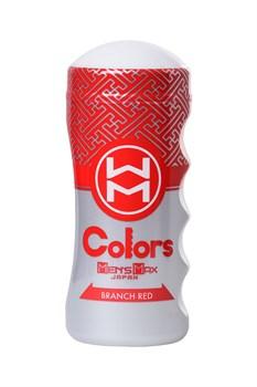 Мультирельефный мастурбатор MensMax Colors - Branch Red
