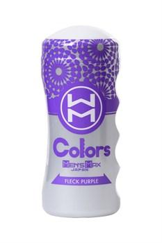 Мультирельефный мастурбатор MensMax Colors - Flick Purple