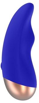 Синий вибратор Chic для клиторальной стимуляции