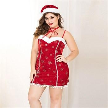 Новогодний костюм Снегурочки №11
