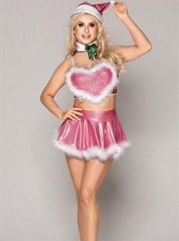 Новогодний костюм Снегурочки №14