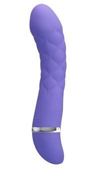 Сиреневый стимулятор G-точки Truda - 19,5 см.