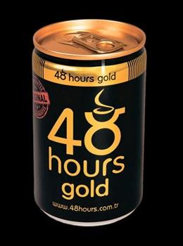 Возбуждающий газированный напиток 48 hours gold, 150 мл