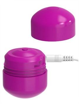 Ярко-розовый клиторальный стимулятор Cute Bullet