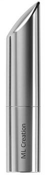 Серебристый мини-вибратор Love Bullet - 8,4 см.