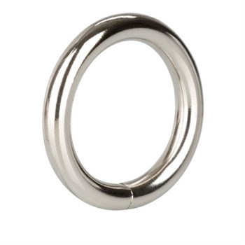 Серебристое эрекционное кольцо Silver Ring