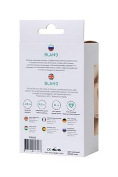 Мятная анальная вибровтулка Bland - 12 см.