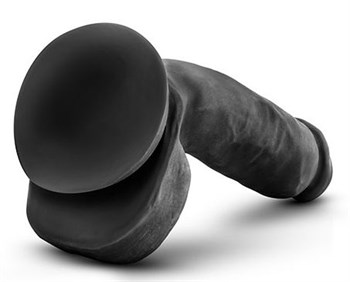 Черный фаллоимитатор Bold Pound 8.5 Inch Dildo - 21,6 см.